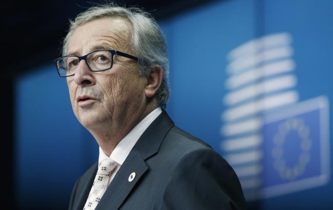Фото: глава Еврокомиссии Жан-Клод Юнкер