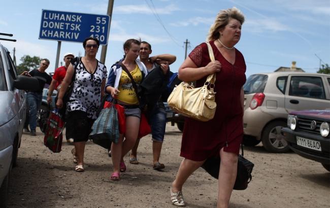 РФ має намір закрити пункти розміщення біженців з Донбасу до 31 грудня