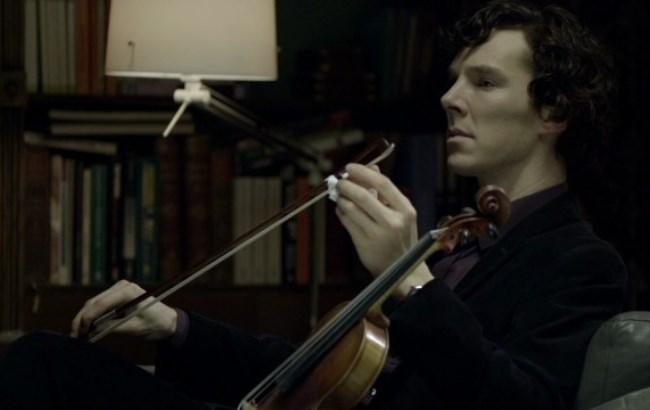"""Украинские музыканты сыграли свою версию саундтрека к сериалу """"Шерлок"""""""