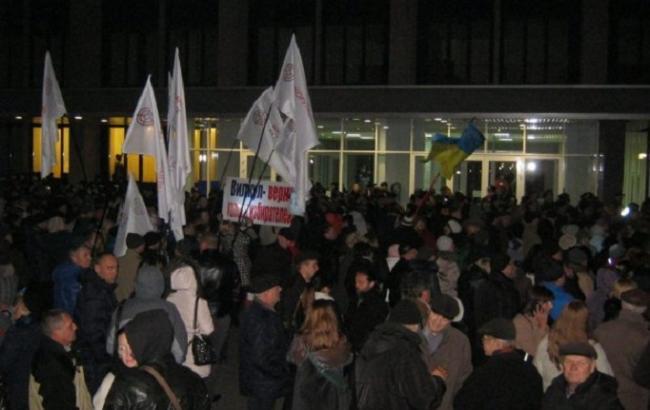 Фото: мітинг у Кривому Розі
