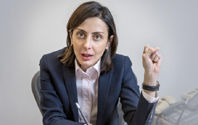 Фото: Хатія Деканоідзе розповіла про позицію Шокіна щодо поліції