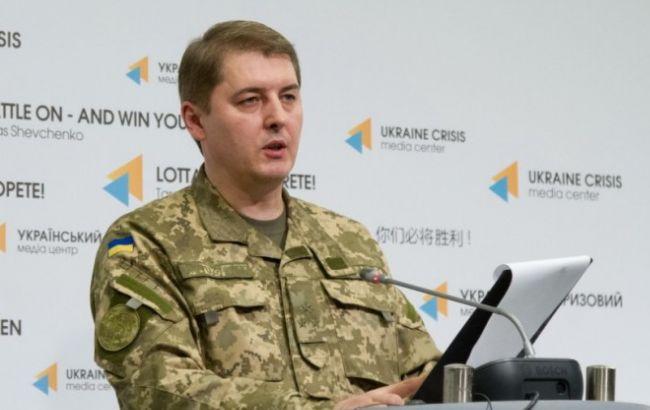 Взоне АТО засутки ранены 5 военных, погибших нет