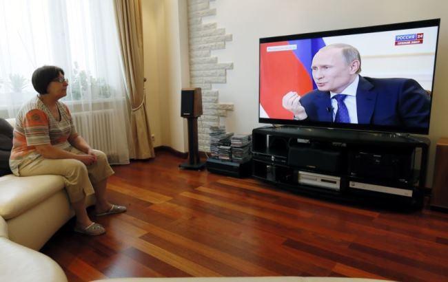 Фото: Українці не довіряють російським ЗМІ (azattyq.org)