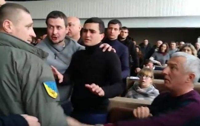 Фото: Черкасский горсовет (стопкадр с видео Инфомост)