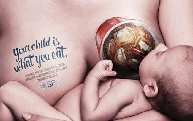 В Бразилии борются с детским ожирением с помощью рекламы