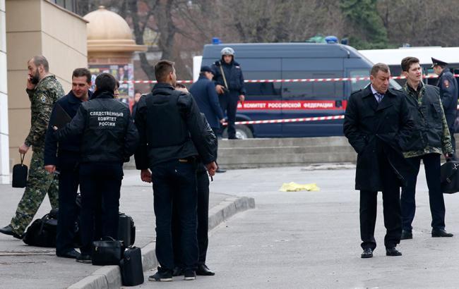 Фото: опубликовано видео взрыва возле школы в Ростове