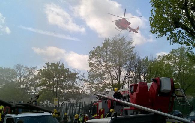 Фото: в Лондоне произошел взрыв