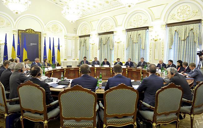 Фото: саммит Украина-ЕС (president.gov.ua)