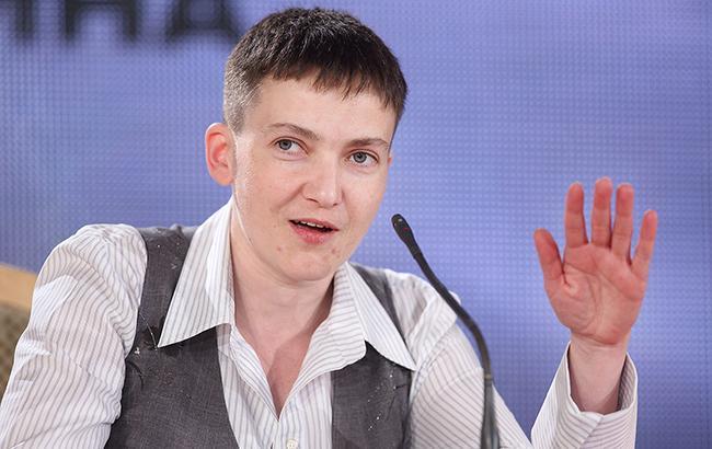 Надежда Савченко неедет напереговоры вМинск