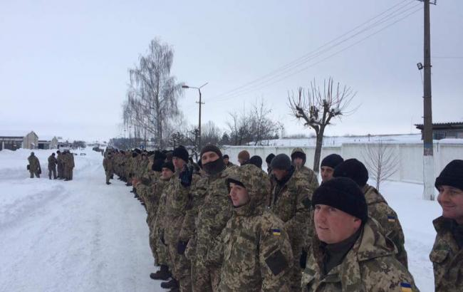 Фото: резервисты ВСУ (mil.gov.ua)