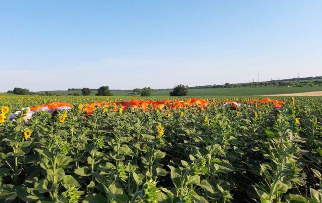 В Полтавской области упал дельтаплан, есть жертвы