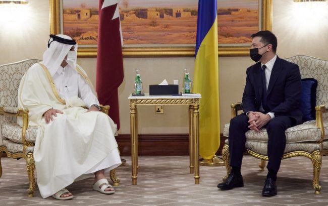 Інвестиції, енергетика та військове співробітництво: Україна і Катар підписали 13 документів