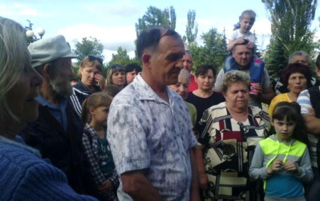 Жителі окупованого Донбасу протестують через загрозу екологічної катастрофи