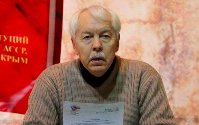 В Симферополе арестовали экс-президента Крыма Мешкова