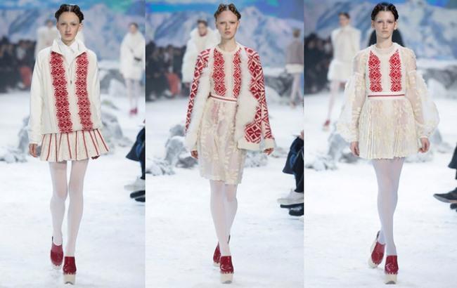 Украинская вышивка вдохновила итальянских модельеров