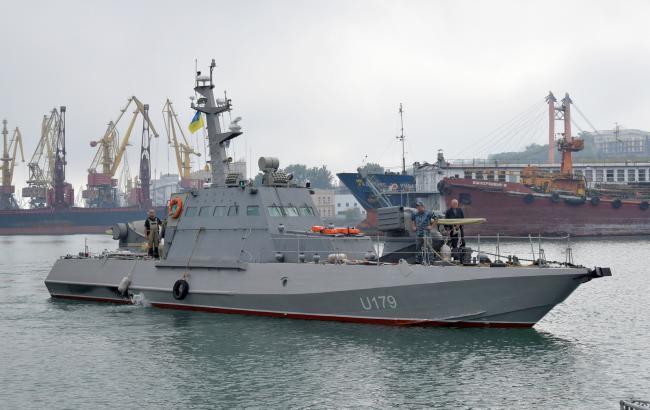 Фото: новозбудований український військовий катер (прес-служба МО)