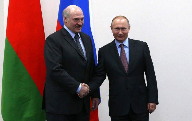 Путін і Лукашенко домовилися про координацію зусиль силових відомств