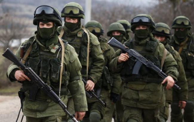 Фото: військові РФ на Донбасі