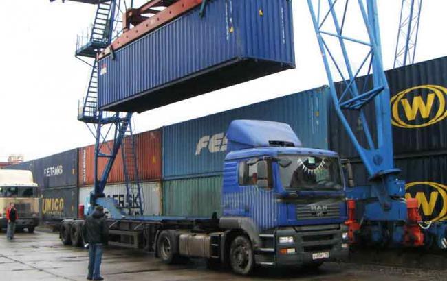 Фото: экспорт товаров в Донецкой области