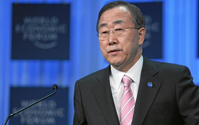 Генсек ООН закликав сторони конфлікту на Донбасі до діалогу