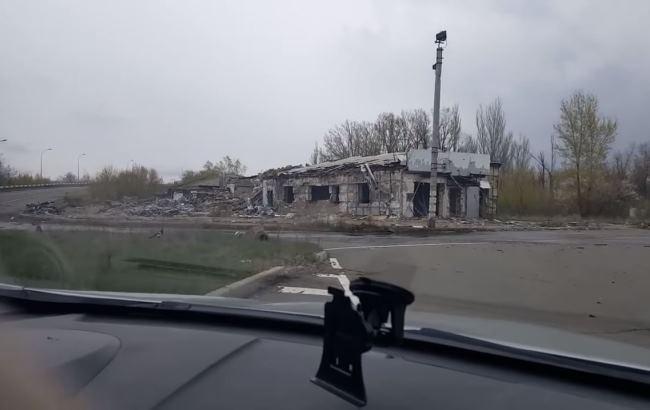 Кадр из видео (YouTube/Новороссия Алекс Волк)