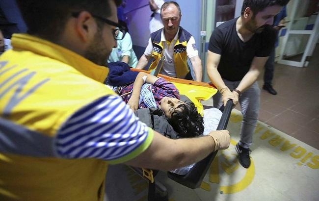 Фото: в Туреччині розбився вертоліт
