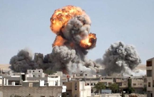 Фото: бомбардировки Алеппо
