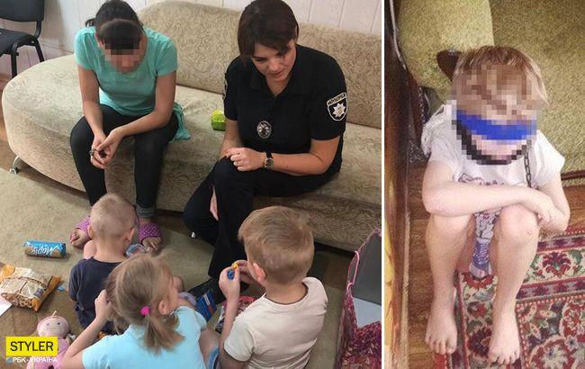 Била палкой и сажала на цепь: жуткие подробности издевательств над детьми в Днепре