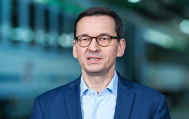Польша поддерживает евроатлантические усилия Украины, - Моравецкий