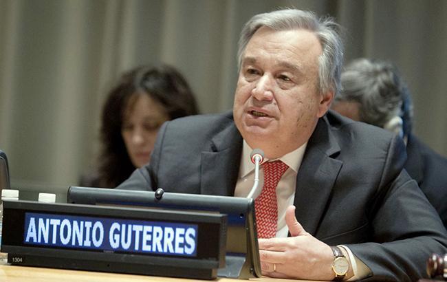 Генсек ООН в новогоднем поздравлении обратился с сигналом тревоги для мира