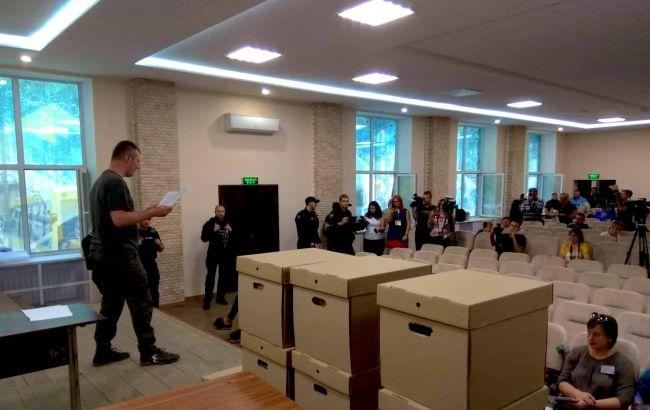 ЦВК склав акти про відсутність документів з чотирьох комісій округу у Покровську