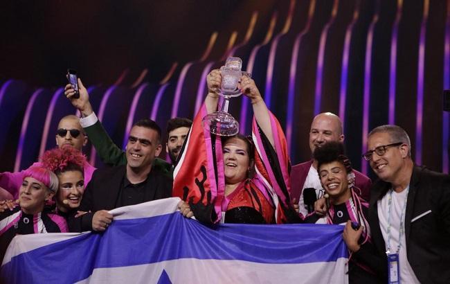 Переможниця Євробачення 2018 (Thomas Hanses/eurovision.tv)