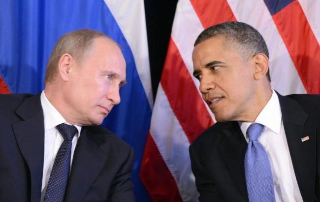 Фото: Обама и Путин (eurasian-defence.ru)
