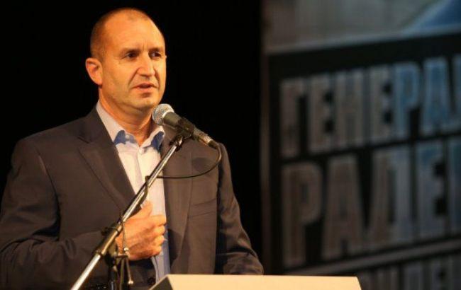 Фото: болгарский оппозиционер Румен Радев
