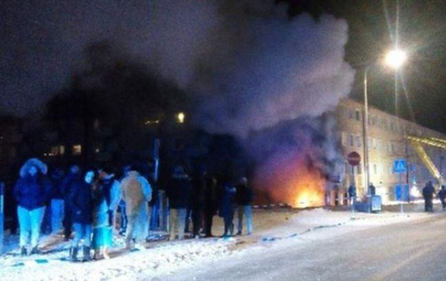 У Стокгольмі в житловому будинку стався вибух, є поранені
