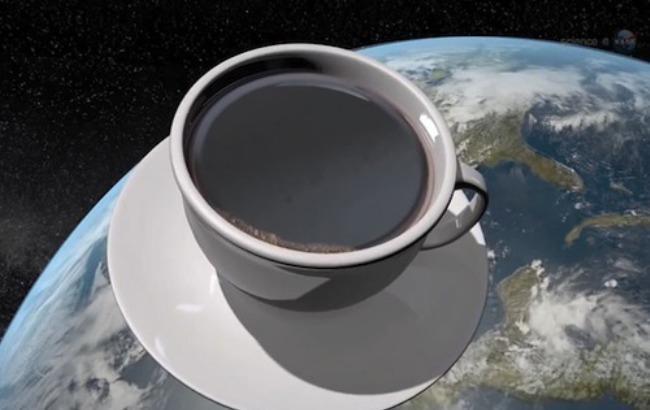 Фото: Кофе в космосе (vashgolos.net)