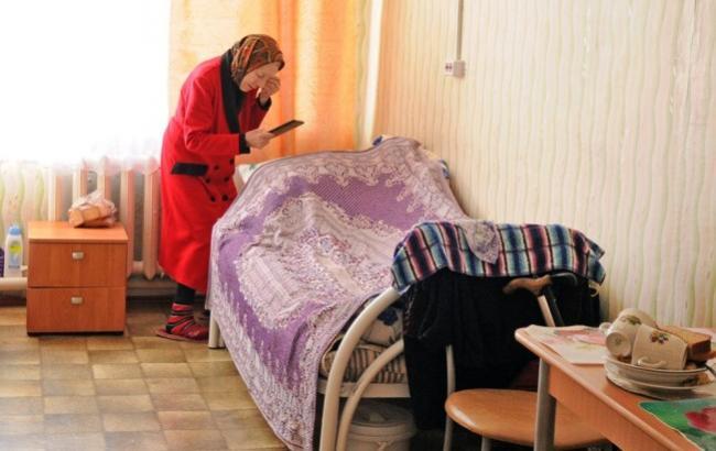 Фото: Російська пенсіонерка