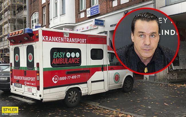 Солист Rammstein Тилль Линдеманн госпитализирован с коронавирусом