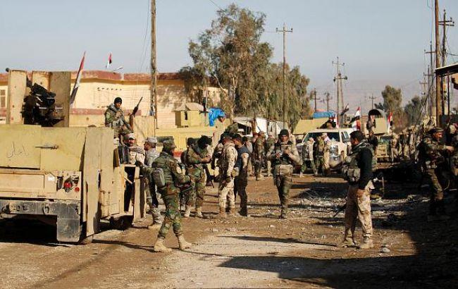Фото: иракские военные в Мосуле