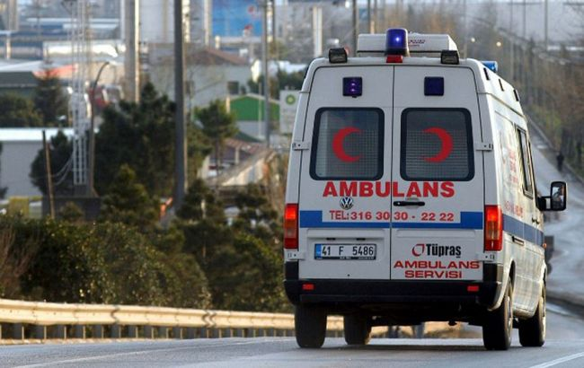 Фото: в Анталии произошел взрыв