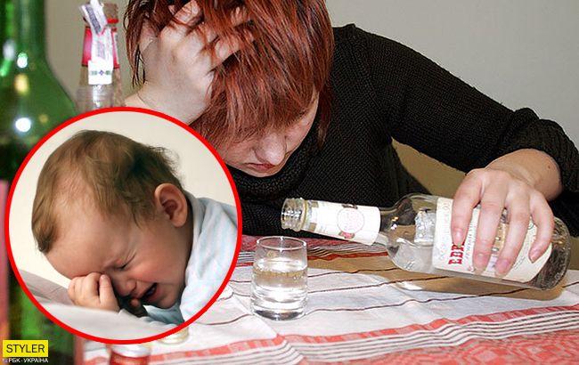 Под Тернополем женщина избила 7-месячного младенца
