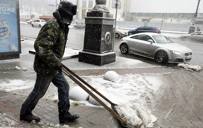 Фото: в Киеве ожидается гололедица (УНИАН)