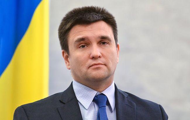 Клімкін закликав країни ОБСЄ ввести нові санкції проти Росії