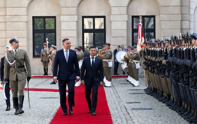 Зеленський заявив про прорив у стосунках із Польщею