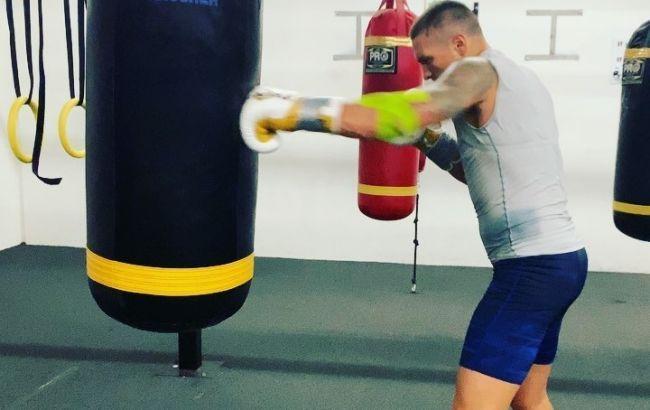 Усик завершил подготовку к дебютному бою в супертяжах