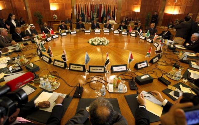 Фото: заседание Лиги арабских государств