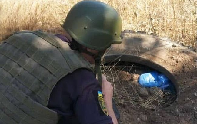Нацгвардия на Донбассе обнаружила опасный схрон