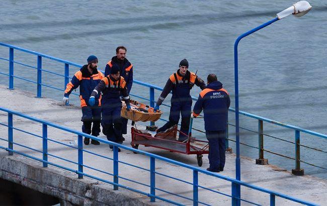 Падіння літака Ту-154: Росія заявила про відсутність даних про вцілілих