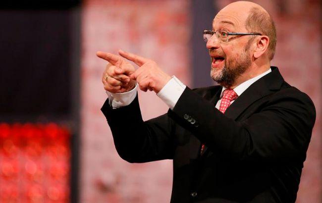 Шульц вслучае победы навыборах не хочет уменьшать налоги сГермании