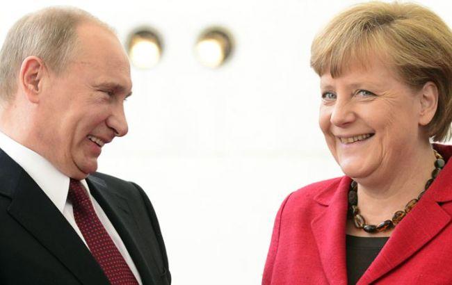 Меркель і Путін 10 травня зустрінуться в Москві